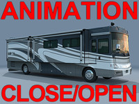 Coach Winnebago Vectra 40WD animation